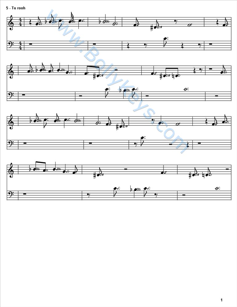Learn To Play Sapna Jahan Sheet Music Free