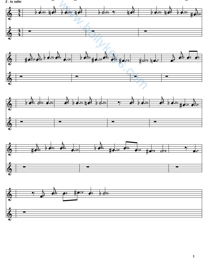 Learn To Play Ae Dil Hai Mushkil Sheet Music Free